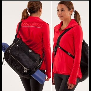 Lululemon Yoga Moto Messenger Bag